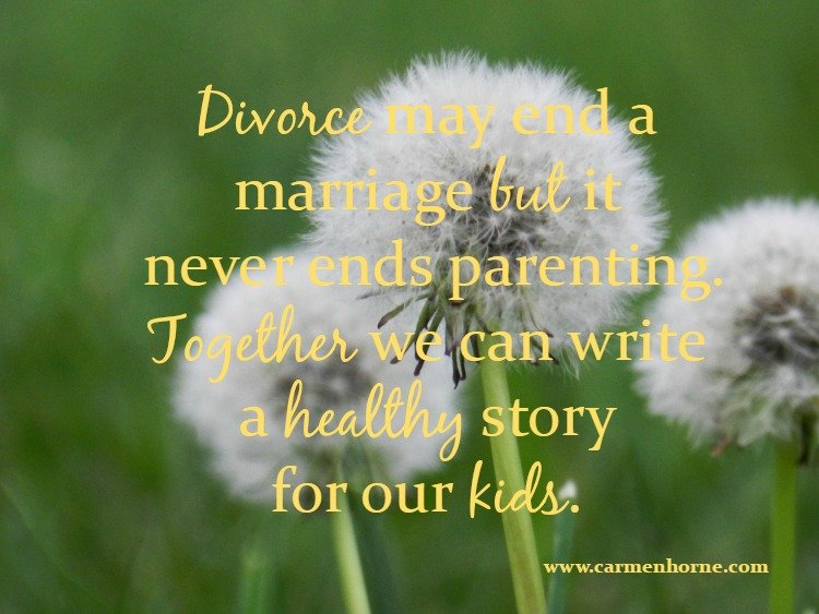 Divorce Isn't The End Of The Story