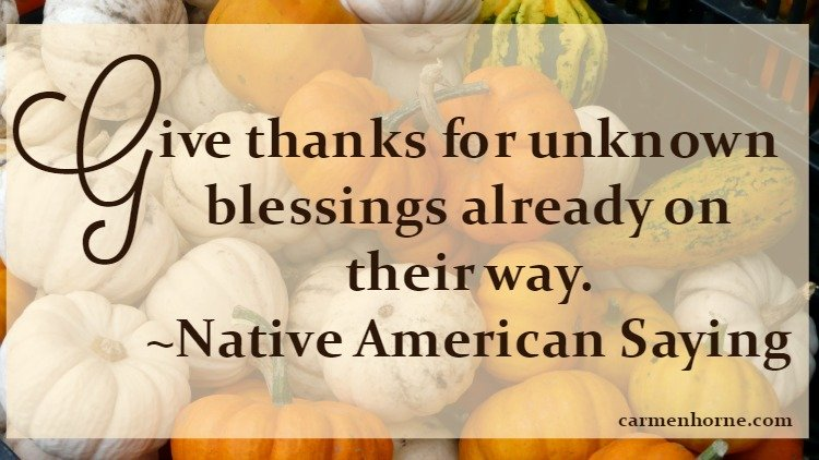 Native American Thanksgiving