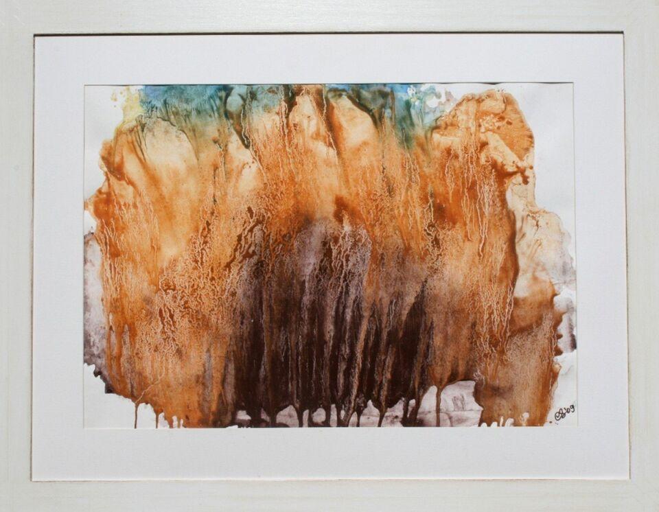 terre e resine naturali su cartoncino - 70 x 50 cm - 2009