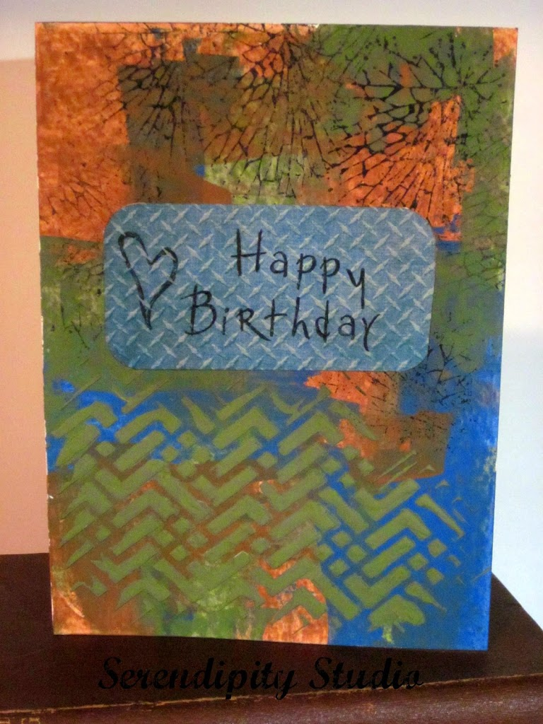 Happy Birthday Card For Young Man