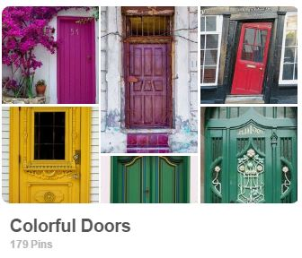 Colorful doors from around the world - Carmen Whitehead Designs