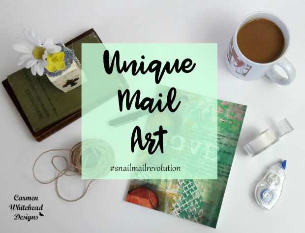 Unique Mail Art #snailmailrevolution