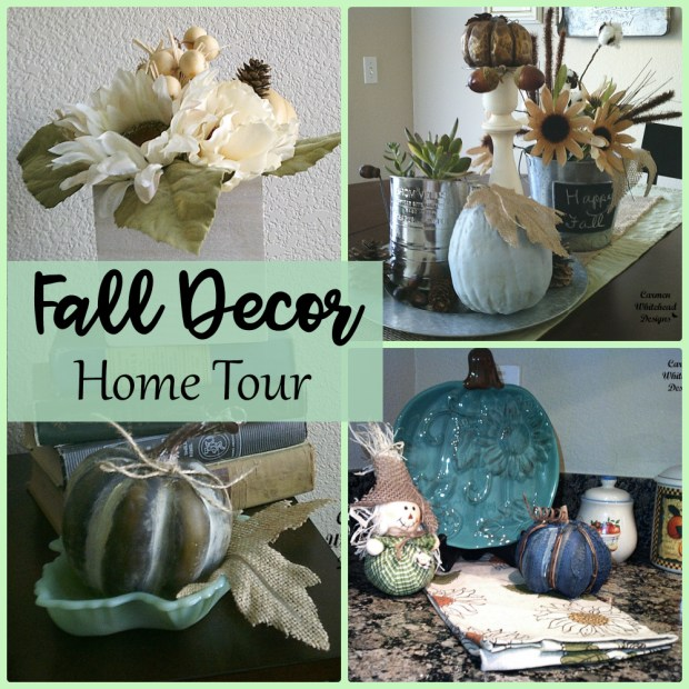 Fall Decor Home Tour 2017 by Carmen Whitehead Designs