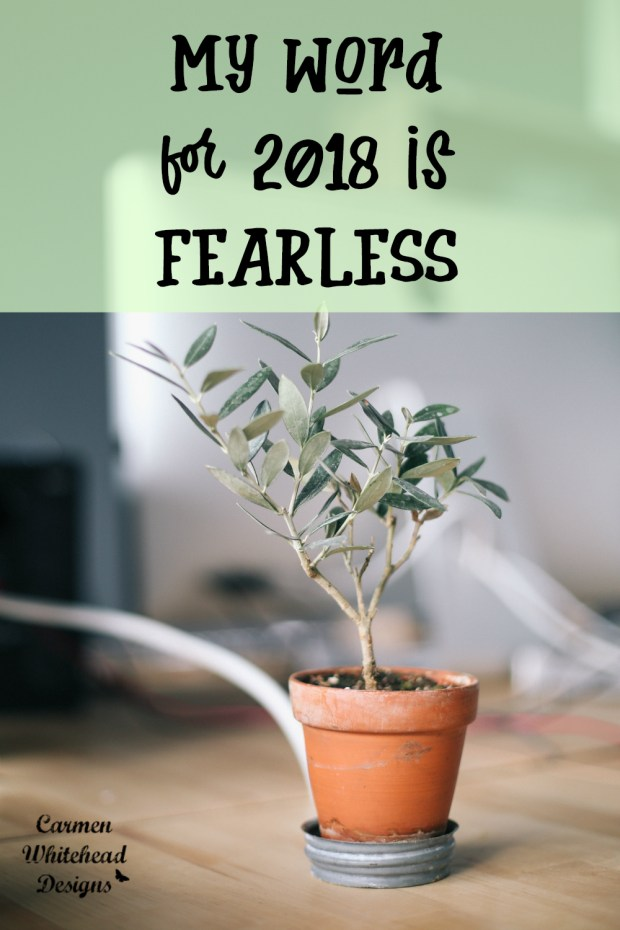 My Word for 2018 is...Fearless