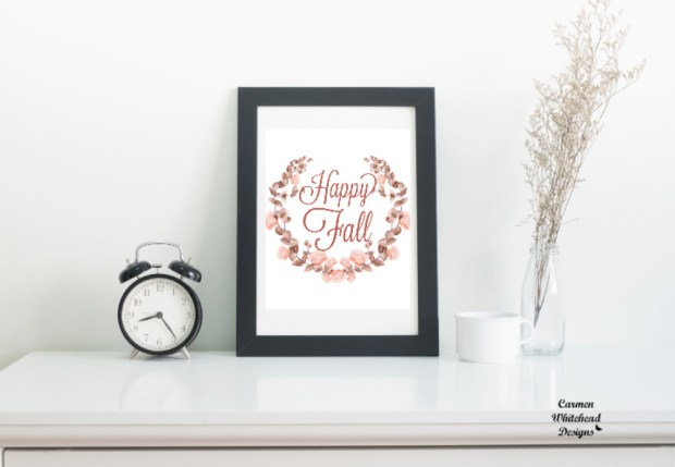 Fall Printables for 2018 - Carmen Whitehead Designs