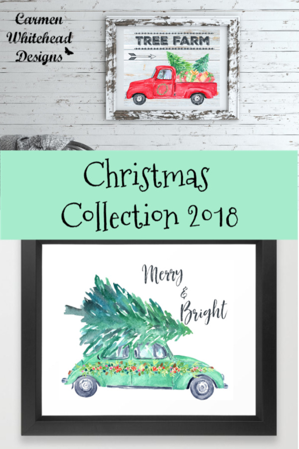Christmas Collection 2018 - Carmen Whitehead Designs