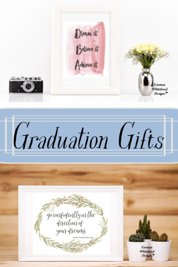 Graduation Gifts by Carmen Whitehead Designs
