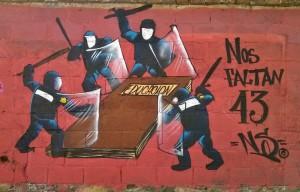 Mural Aytzinapa San Cristobal