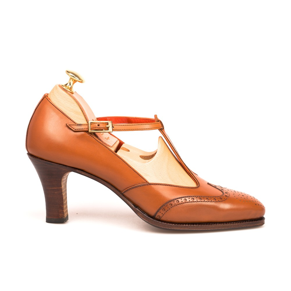 T Strap Shoes