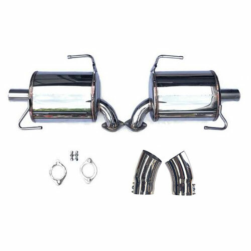 exhaust rear mufflers 16 outback wagon 3 6r