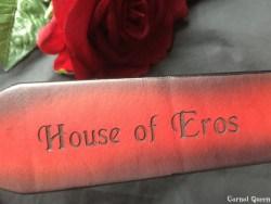 House of Eros Dagger Strap Branding.