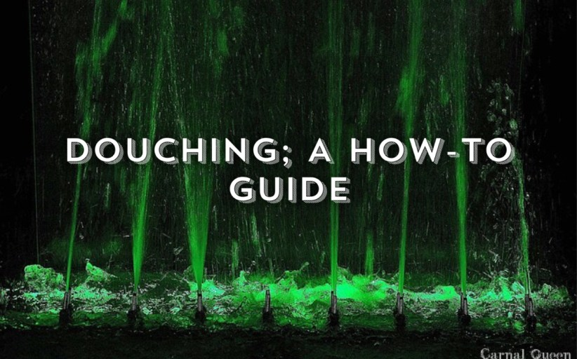 Anal Douche - A Guide To Anal Douching