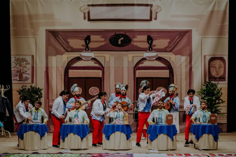 Preliminares COMBA 2019. Actuación de la murga Otro 5º por favor