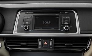 Aftermarket Navigation radio for Kia K5Optima 20162017