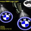 BMW door lights logo