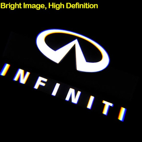 INFINITI Car door lights logo