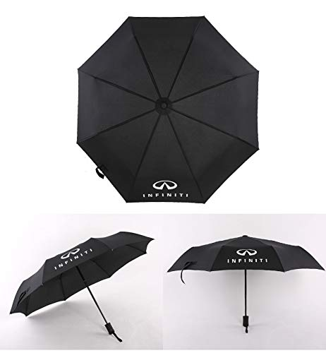 Auto Sport AUTO Open Large Folding Umbrella Windproof Sunshade with Car Logo (Infiniti)