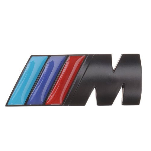 Black Badge Tri Color For All Bmw Rear Emblem Car Decal Logo Sticker