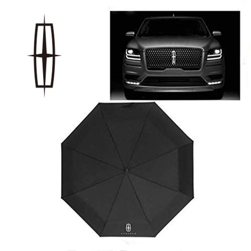 Auto Sport AUTO Open Large Folding Umbrella Windproof Sunshade with Car Logo Fit Lincoln Accessory