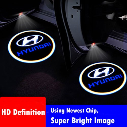 HYUNDAI door projector lights