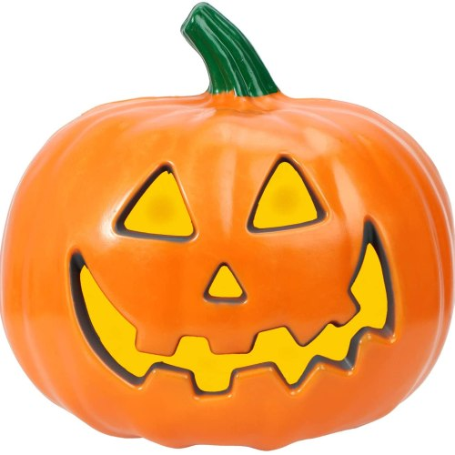 Hossejoy Halloween Pumpkin Lantern, Battery Operated Lighted Pumpkins Decorations for Outdoor Indoor Garden Patio Party Decorative Festival Events