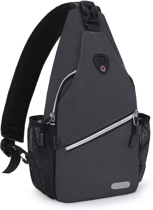 MOSISO Mini Sling Backpack,Small Hiking Daypack Travel Outdoor Casual Sports Bag