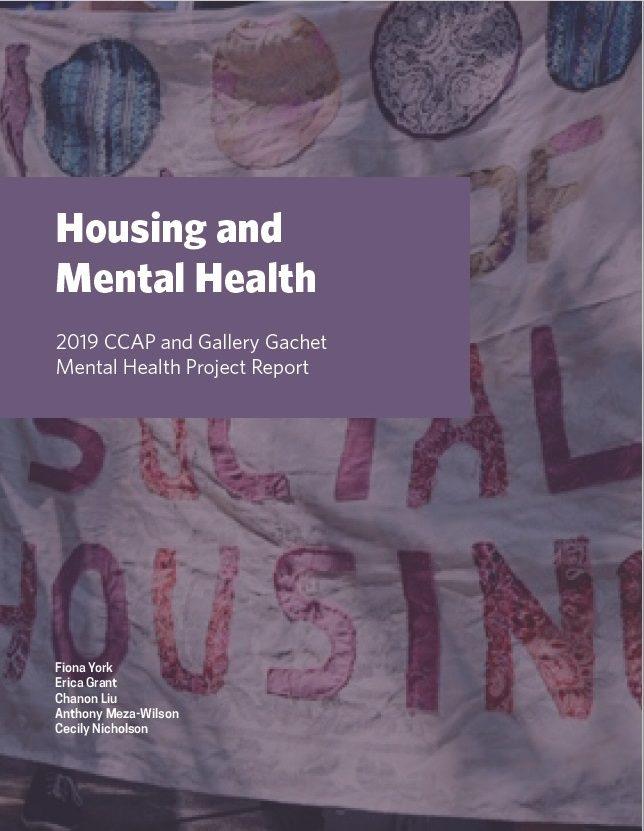 CCAP Mental Health and Housing Report 2019