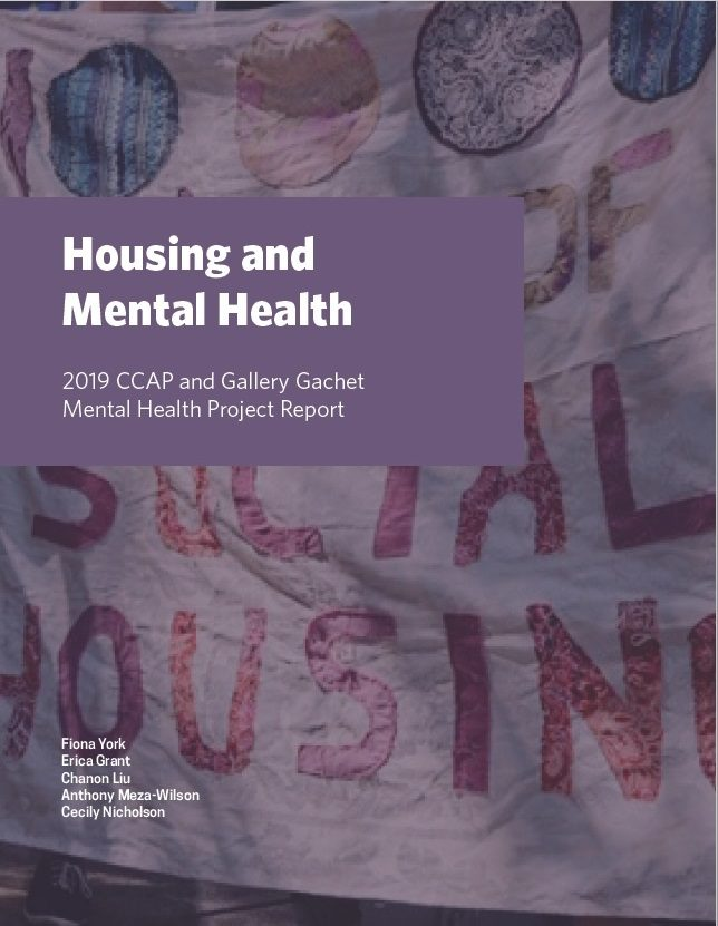 CCAP Mental Health and Housing Report 2019