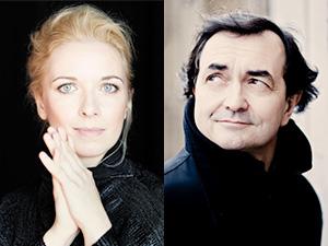 Pierre-Laurent Aimard and Tamara Stefanovich
