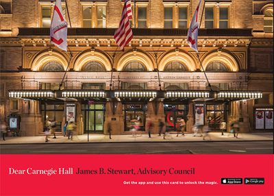 Dear Carnegie Hall App