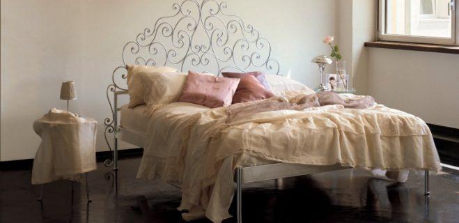 letto in ferro battuto modello butterfly_ barel