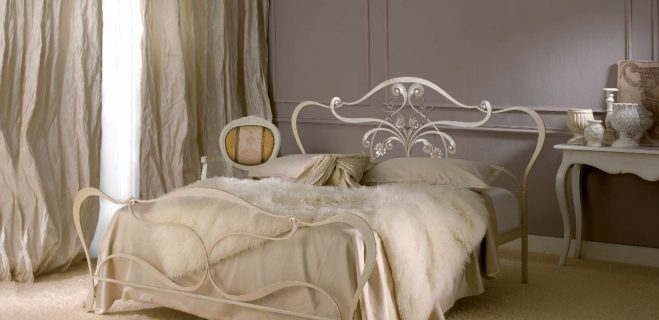 letto in ferro battuto modello imelda_ barel
