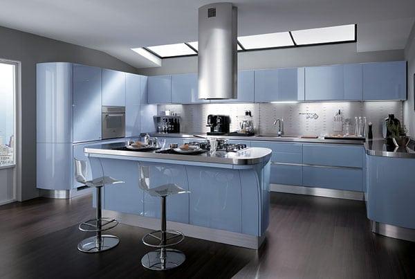 cuisine bleue inspirations autour de