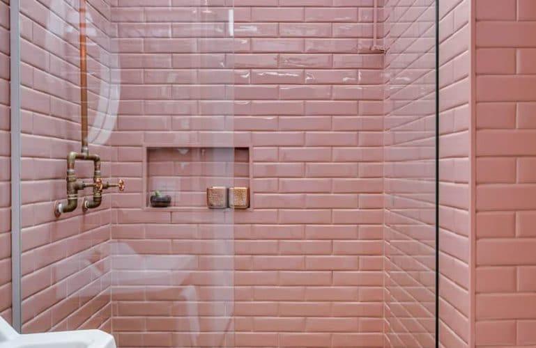 Carrelage Salle De Bain Rose Poudre Venus Et Judes