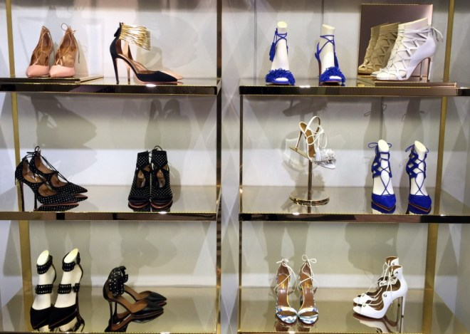 Aquazzura Store London