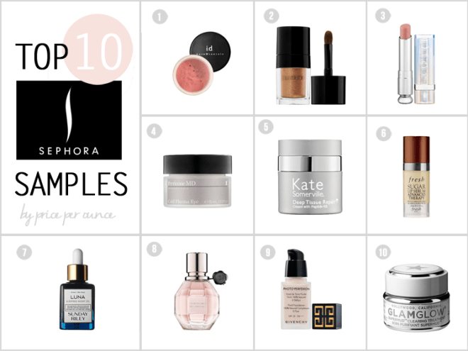 best-sephora-samples