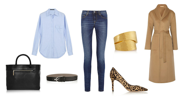 The basics of a wardrobe # 1 JEANS Look 1
