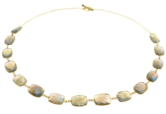 14K Gold Opera Collection with Labradorite(3