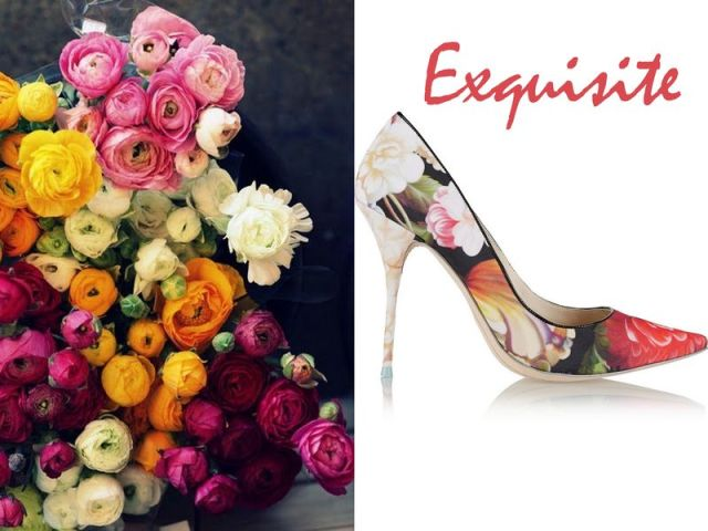 J.CREW+ Sophia Webster Lola floral-print satin pumps £240
