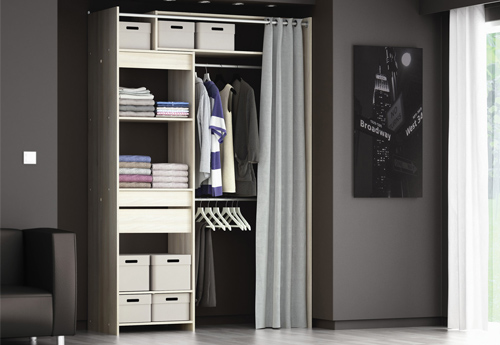 Id e am nagement placard chambre - Dressing le roy merlin ...