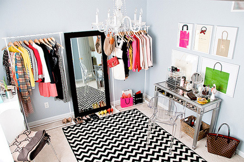 Dressing dans une chambre : des idées pour s\'inspirer