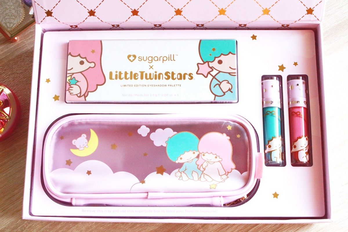 Sugarpill x Little Twin Stars palette review + video