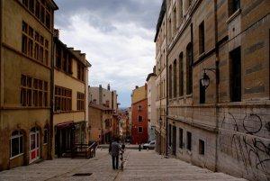 Photo des pentes de la Croix Rousse à Lyon
