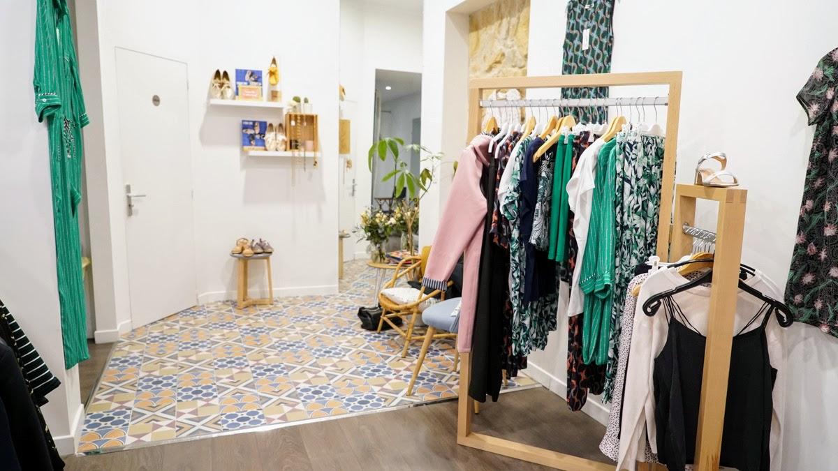 Alfred et Bluette magasin de vêtements et accessoires à Lyon Ampère
