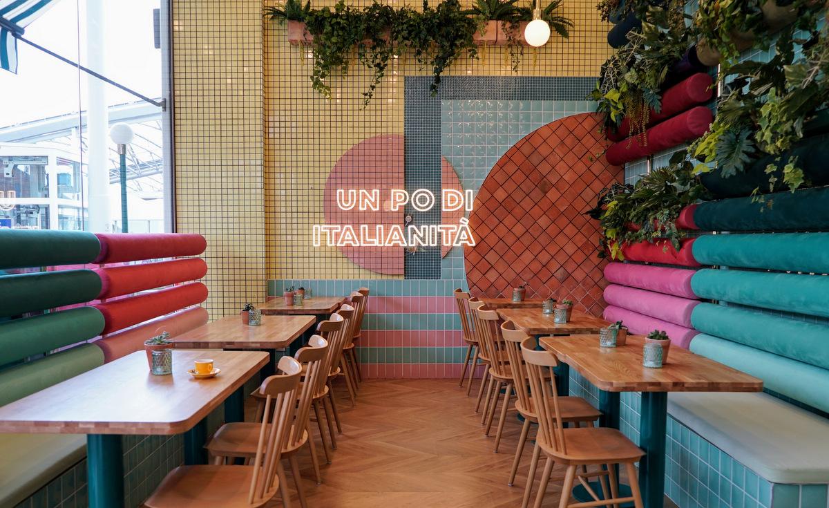 Piada restaurant italien à Confluences Lyon