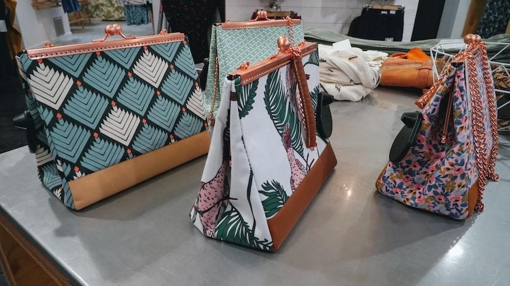 sacs à mains dans le magasin popleen lyon