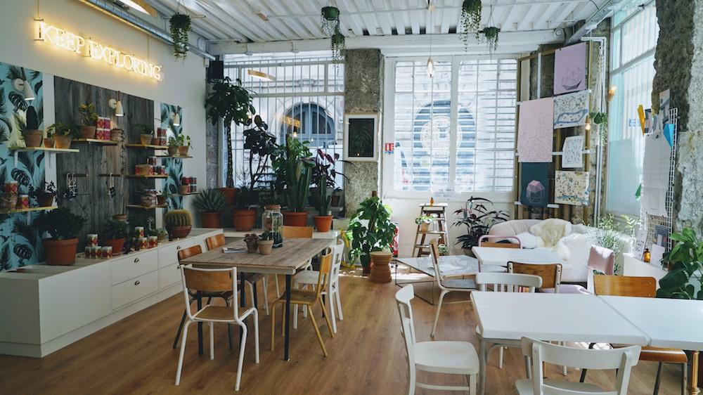 Hyppairs à lyon photo de la boutique et du coin salon de thé