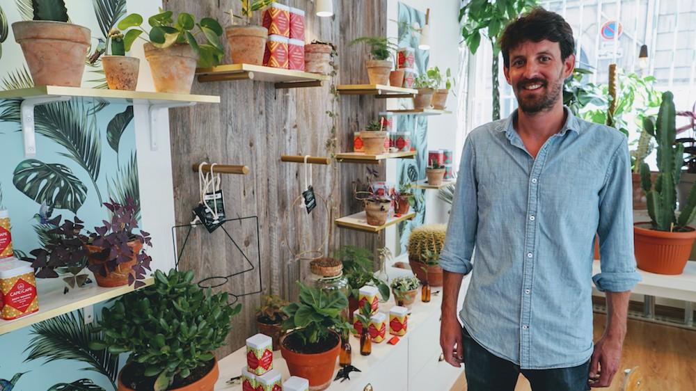 Aymeric créateur du magasin hyppairs à lyon