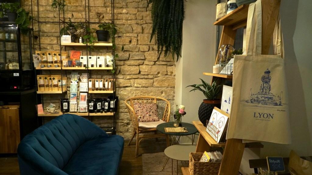 décoration salon de thé