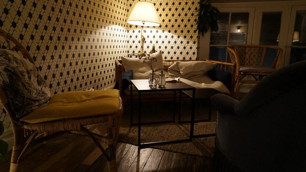 étage du salon de thé anahera